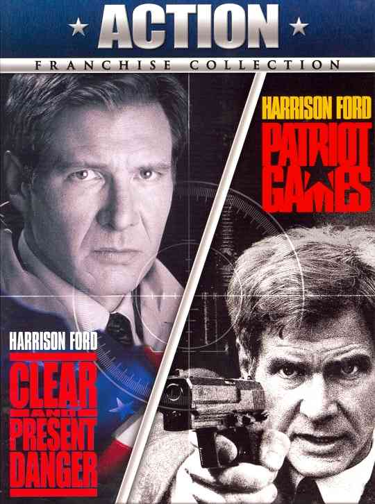 CLEAR AND PRESENT DANGER/PATRIOT GAME BY FORD,HARRISON (DVD)
